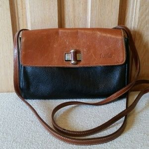 FURLA Vintage Crossbody Bag Auth Rare!
